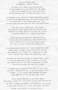 Bob's Poem
